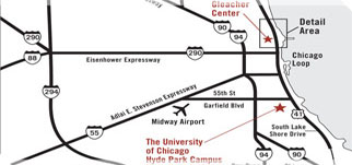 Maps To Gleacher Center The University Of Chicago Booth School Of