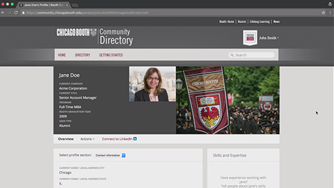 Search Community Directory