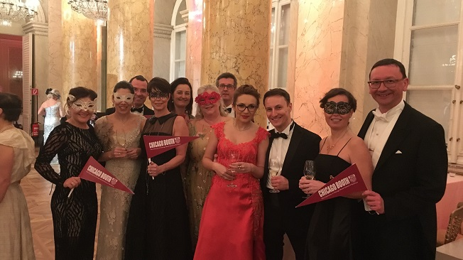Rudolfina-Redoute Masked Ball 2018, alumni, group