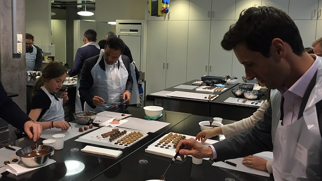 Conversation with Thomas Hagmann and Visit to the Chocolate