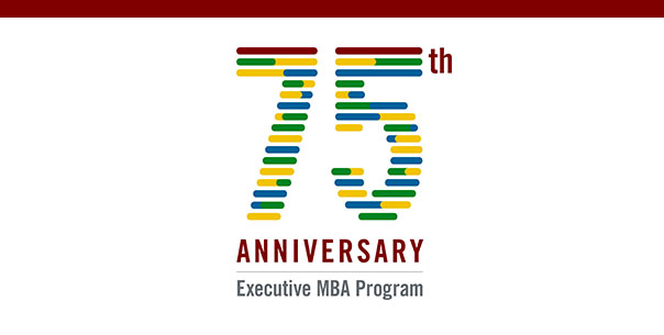 Booth's Executive MBA 75th Anniversary