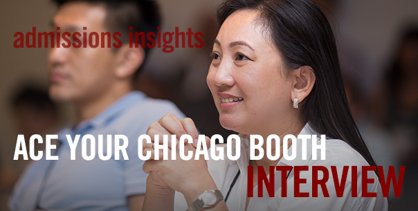 Ace Your Chicago Booth Interview