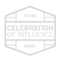 Celebration of Influence | Europe | 20 Years