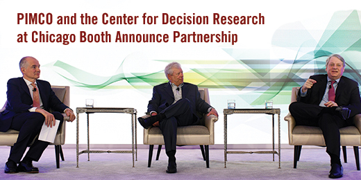 PIMCO and the Center for Decision Research at Chicago Booth Announce Partnership