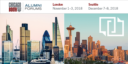 Alumni Forums London and Seattle