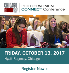 Booth Women Connect Conference - Friday October 13, 2017