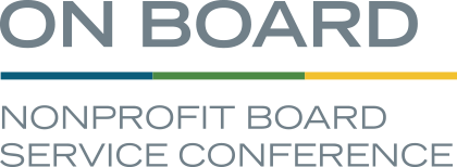 On Board Nonprofit Board Service Conference