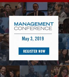 Register for management conference 2019