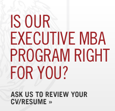 Is our Executive MBA program right for you? Ask us to review your CV/Resume.