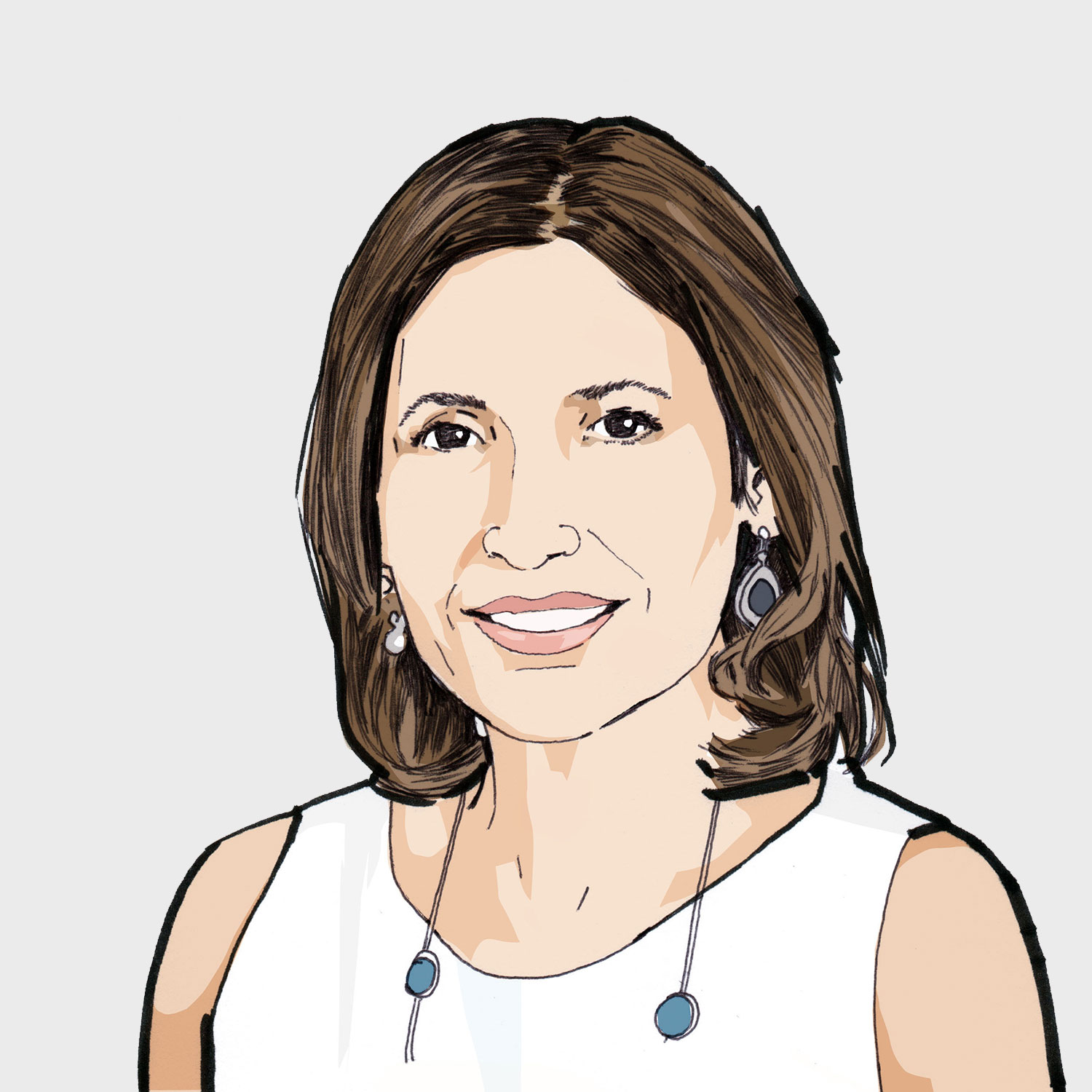 Illustration of contributor Angela Blatteis