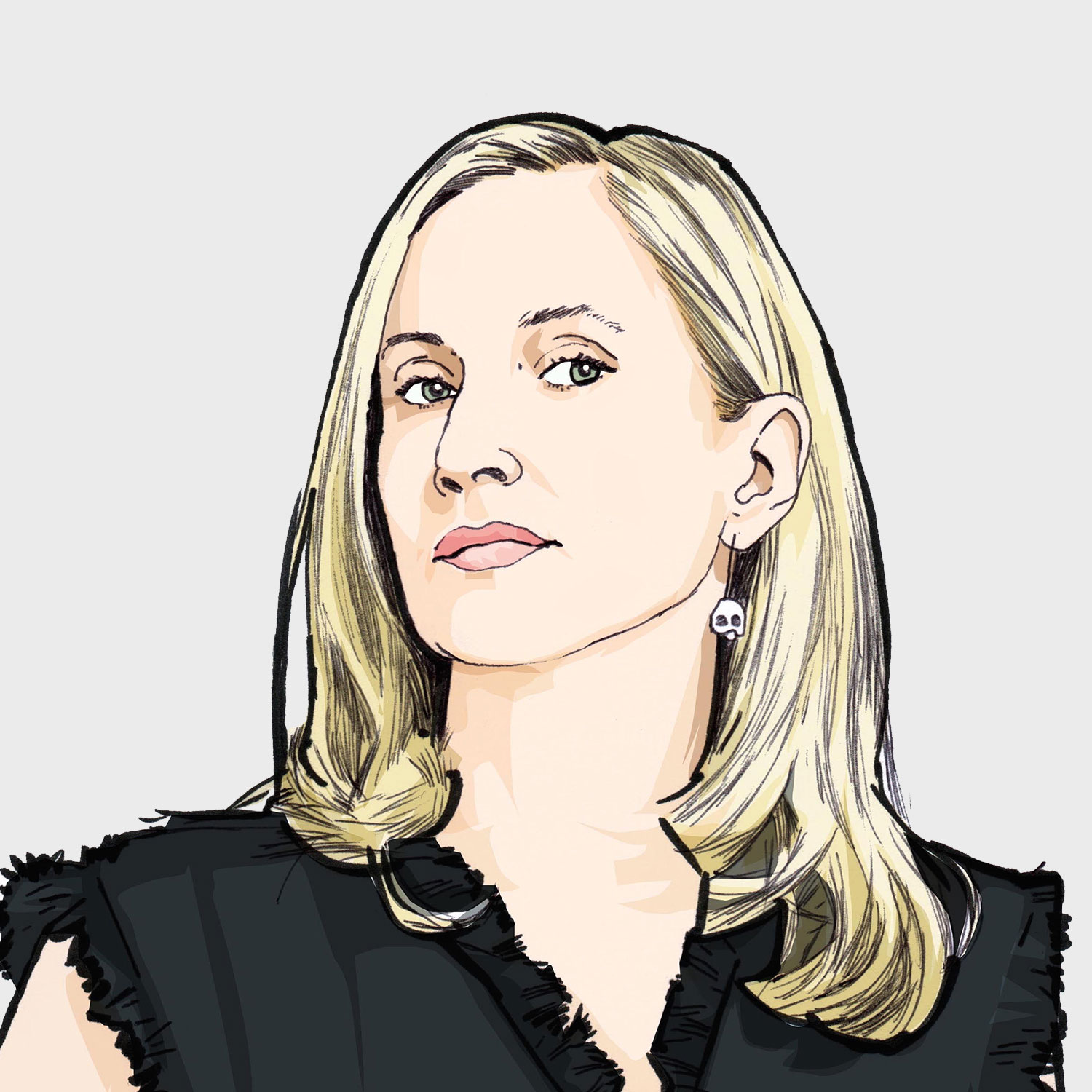 Illustration of contributor Carla Dunham