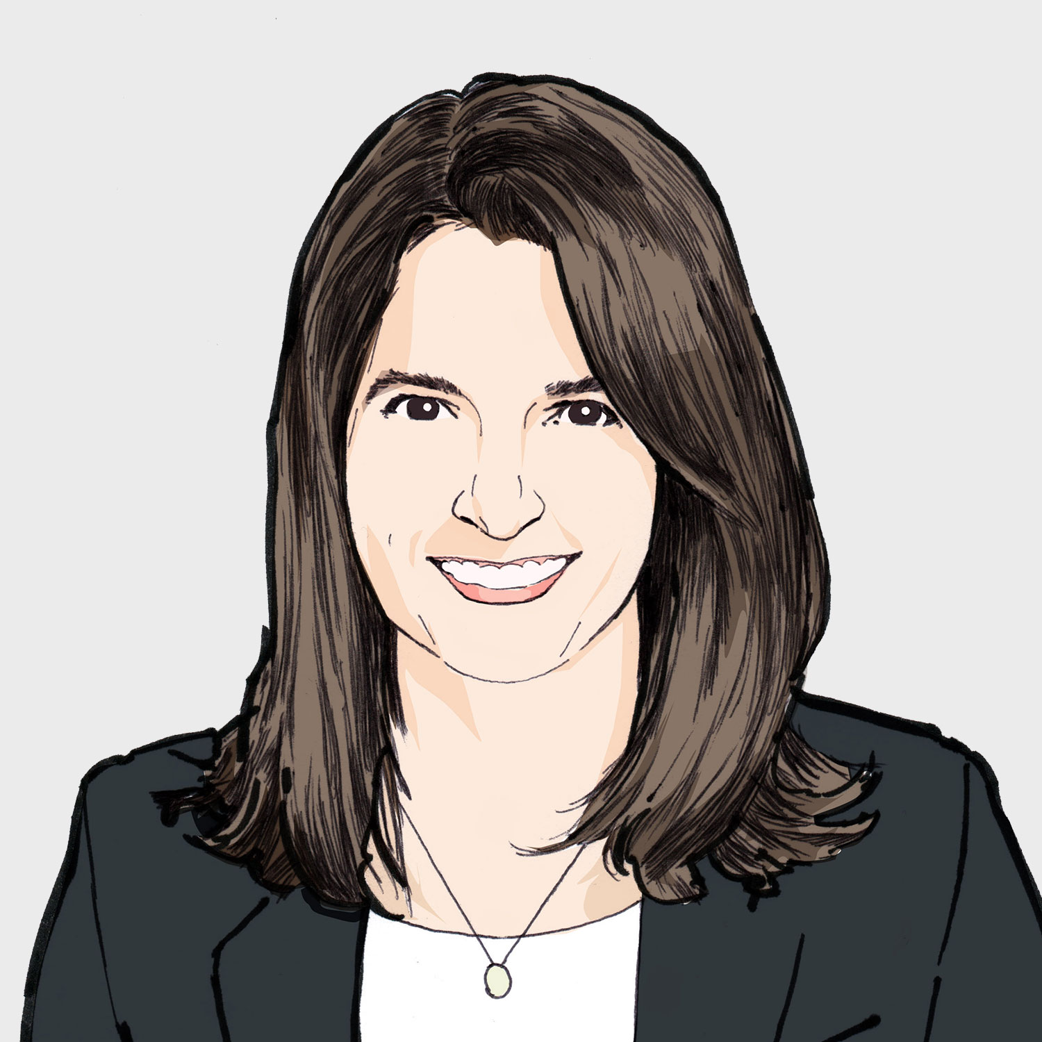 Illustration of contributor Christine Thomas