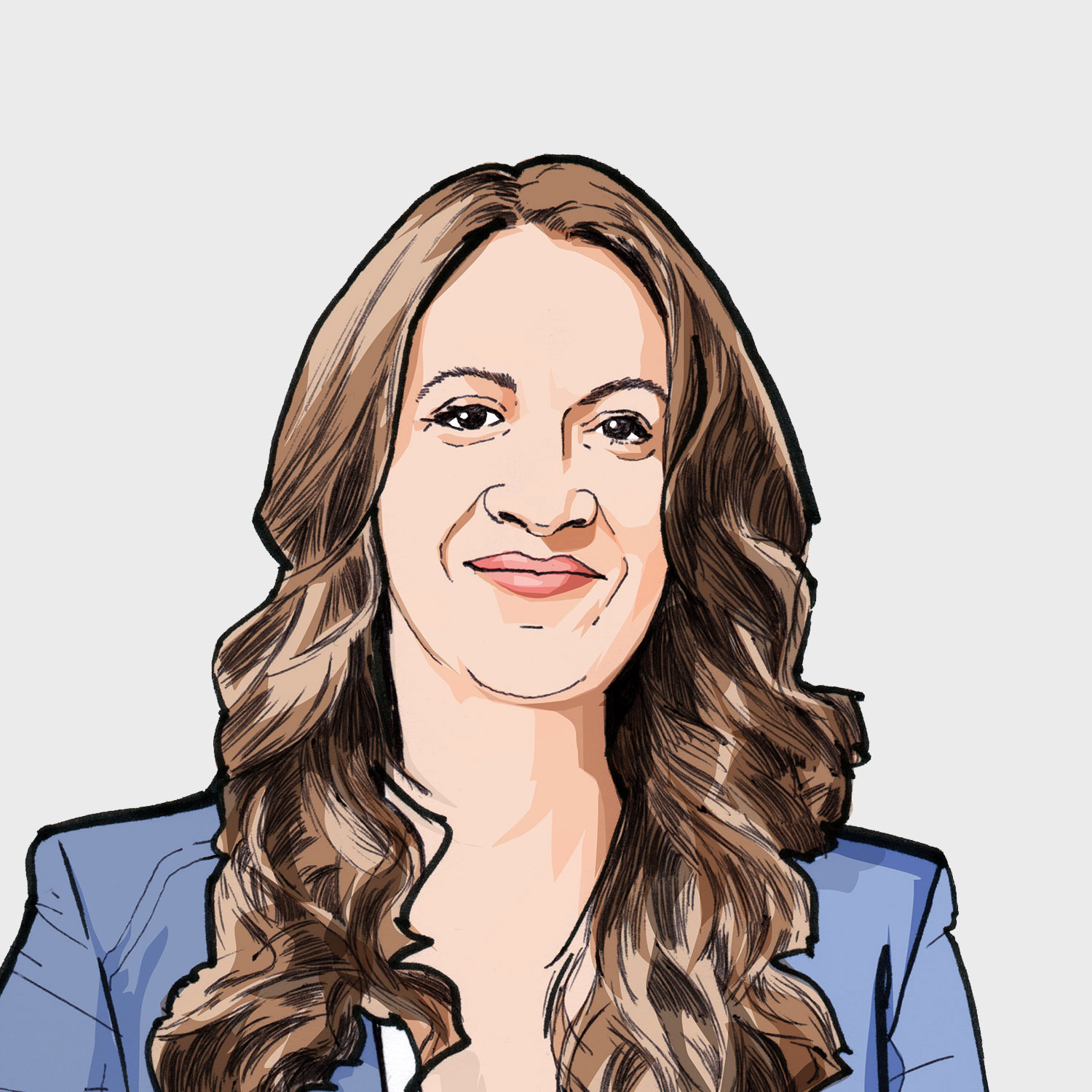 Illustration of contributor Liz Tilatti