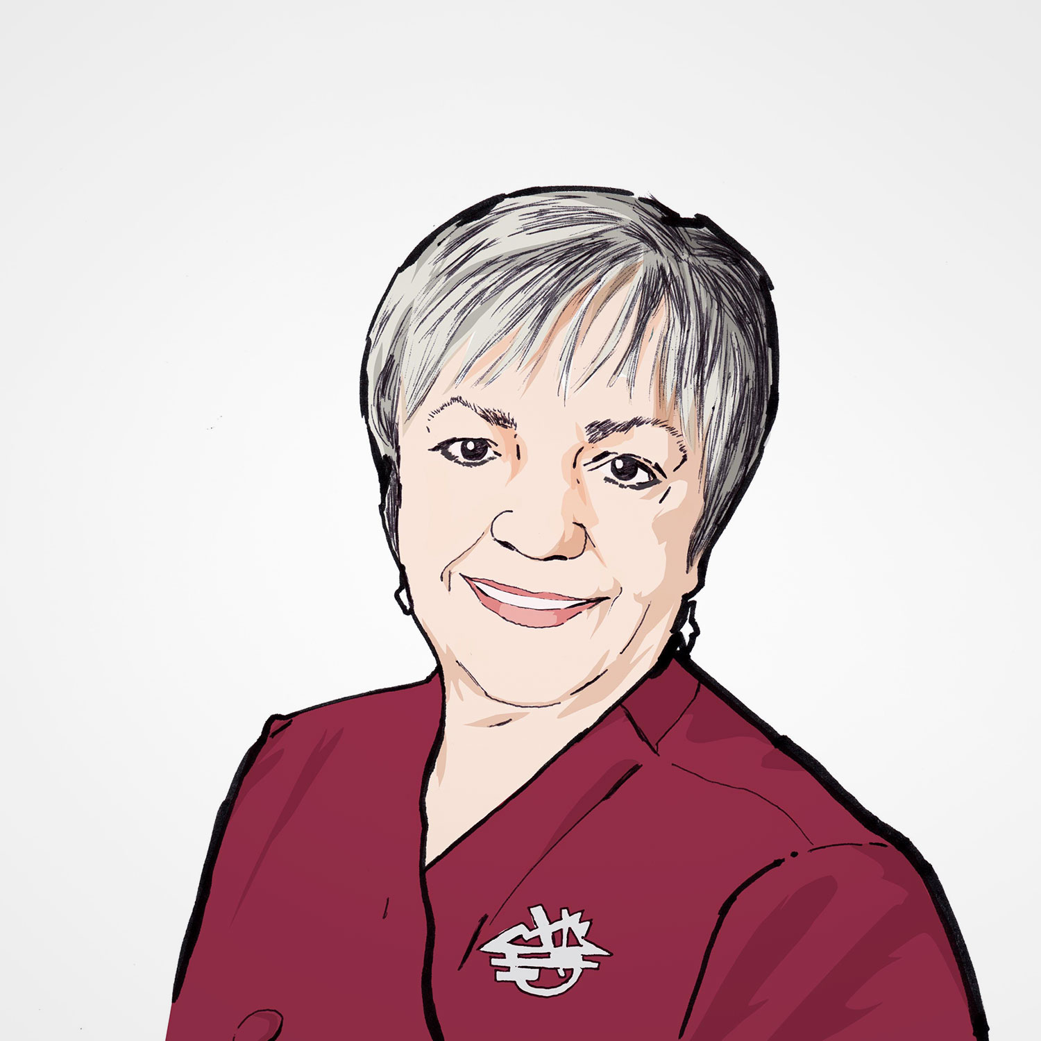 Illustration of Joyce Simon