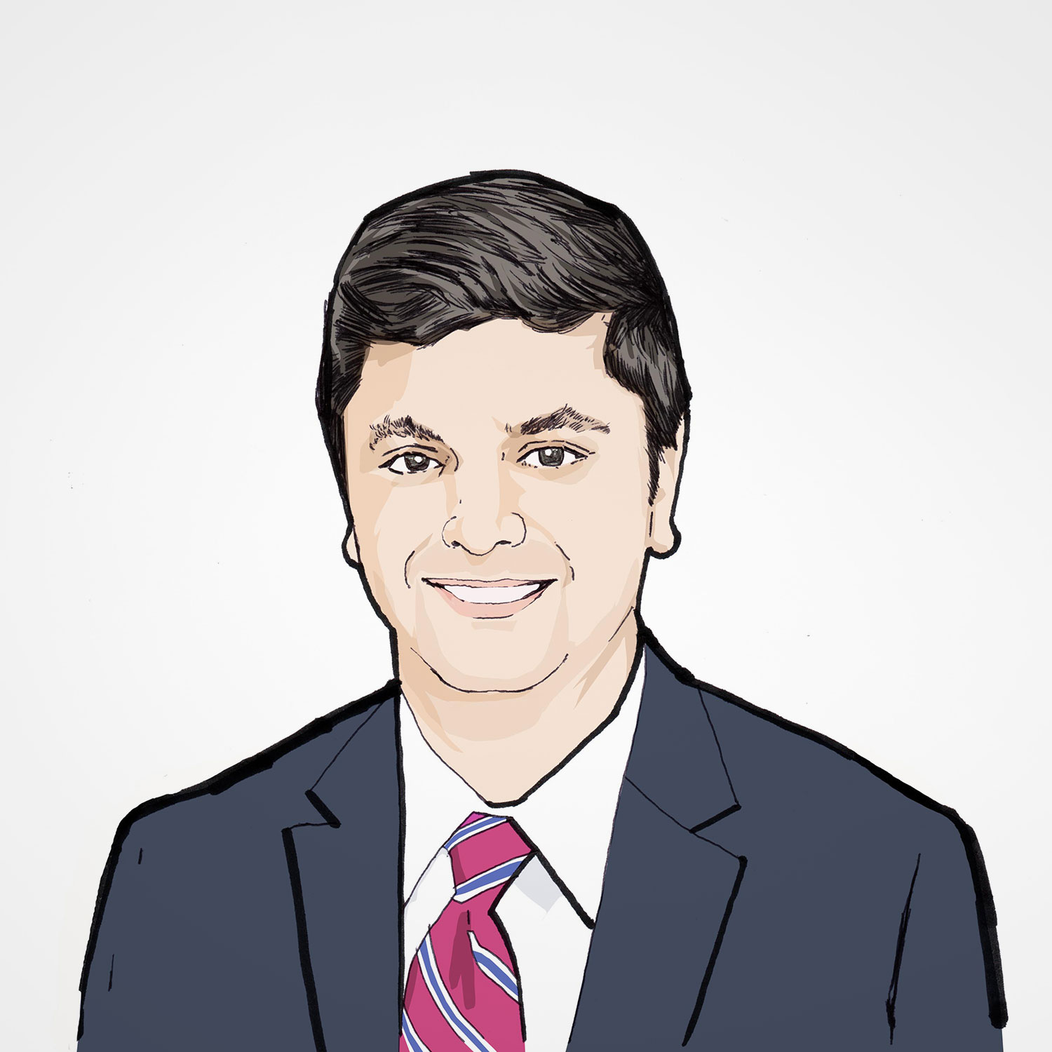 Illustration of Kaustubh Wagle