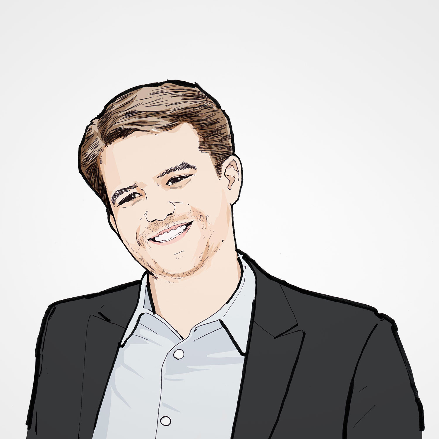 Illustration of Kyle Swinsky
