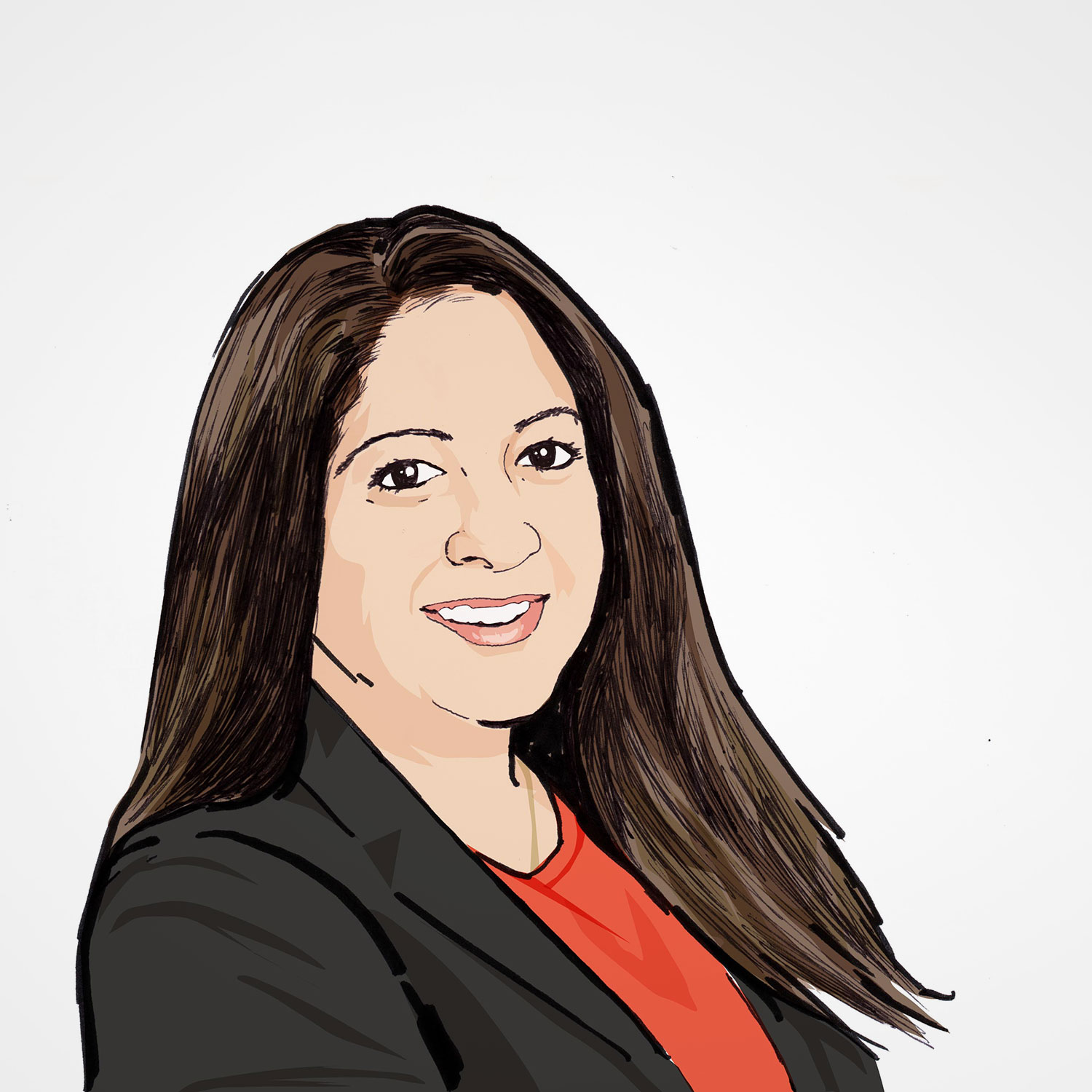 Illustration of Shilpa Gadhok
