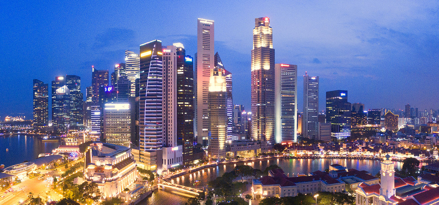 Photo of Singapore Financial District