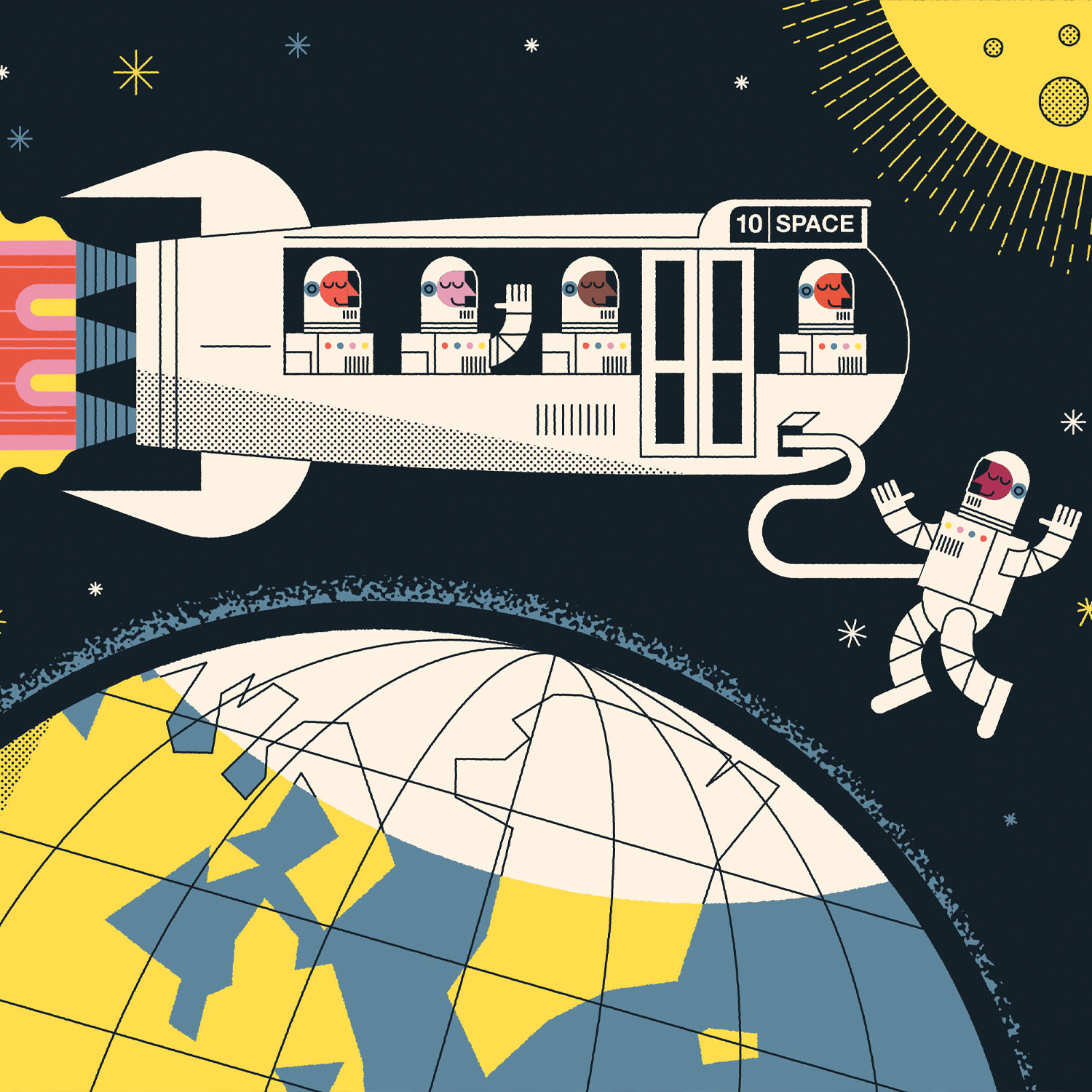 On a Mission to Send 'Citizen Astronauts' to the Stars