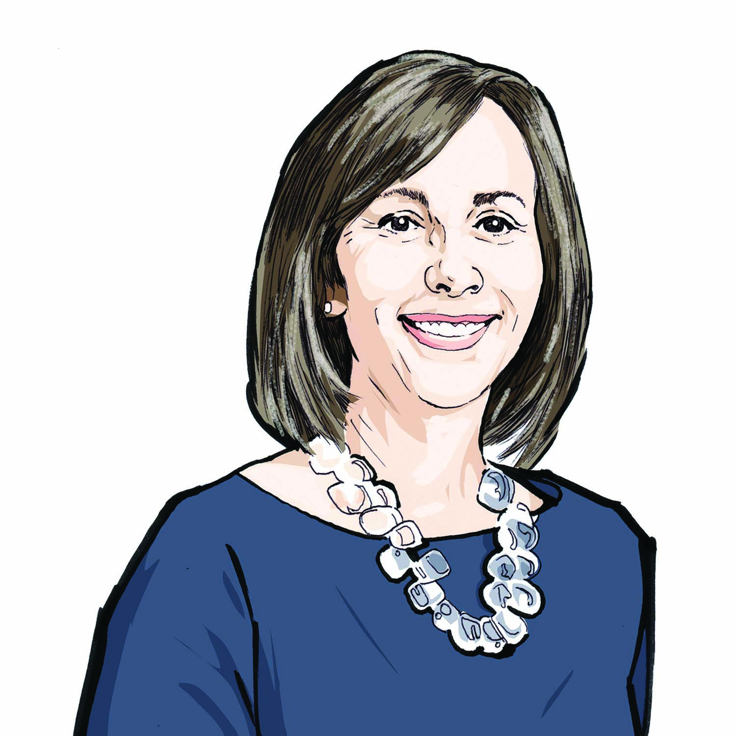 Illustration of Dr. Stacy Tessler Lindau, AM '02