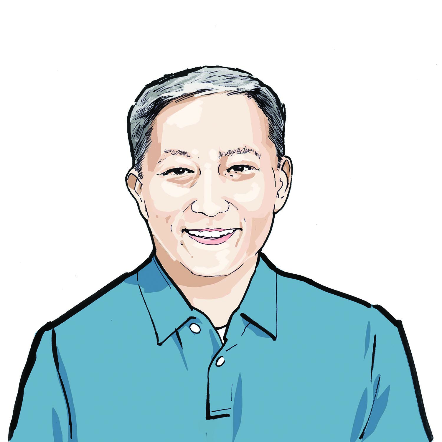 Illustration of Benjamin Tan, '06