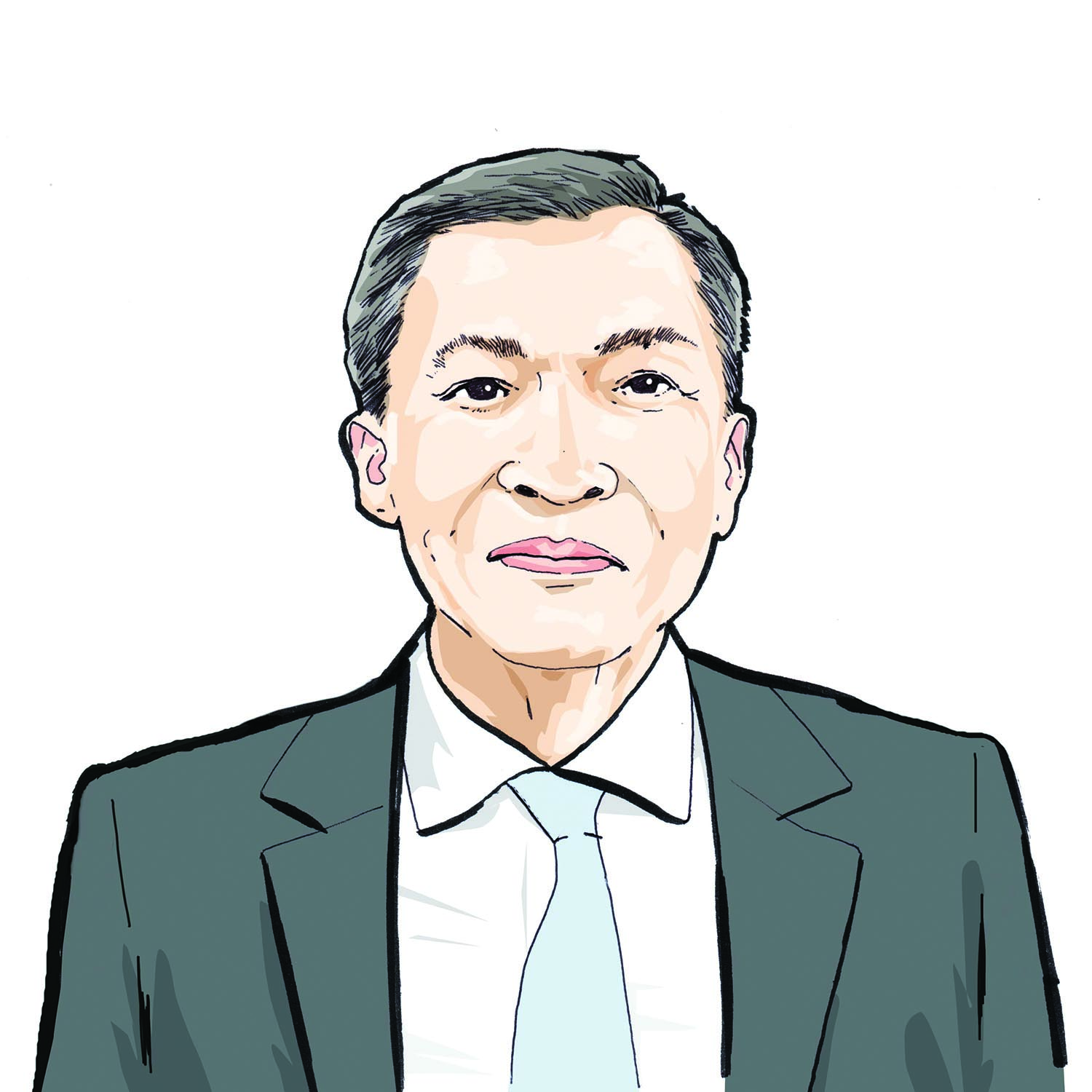 Illustration of Maxime Tran, '18 (EXP-23)