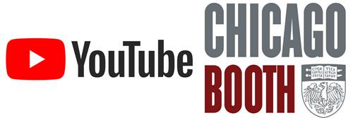 YouTube and Chicago Booth logos