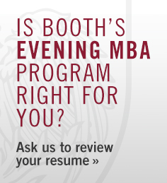 Is Booth's Evening MBA Program Right for You?
