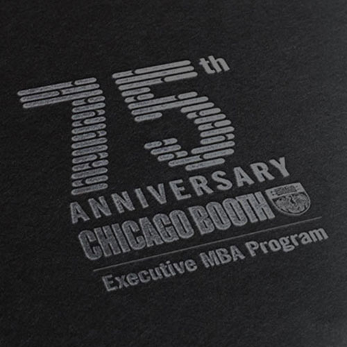 Chicago Booth Executive MBA 75th Anniversary History