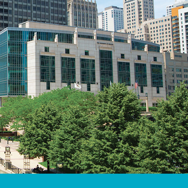 Photo of the Chicago campus for Executive MBA