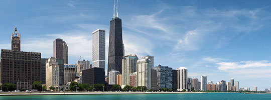 Photo of the Chicago skyline
