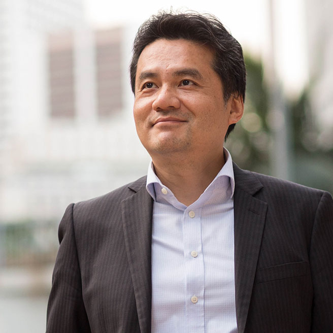 Hong Kong Executive MBA student Patrick Yip