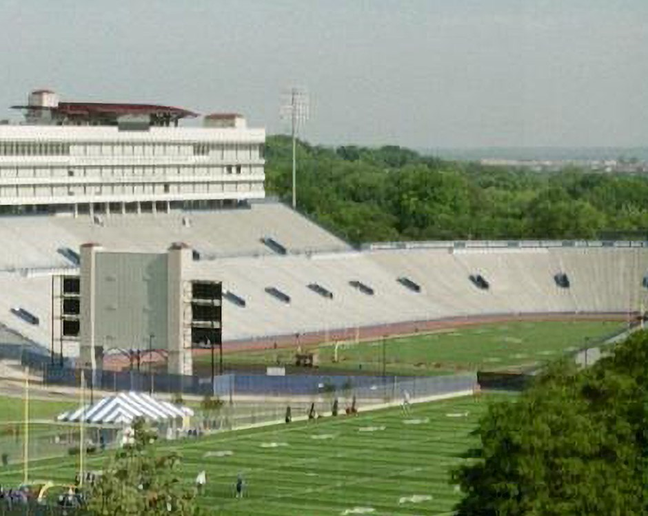 David Booth Kansas Memorial Stadium at the University of Kansas