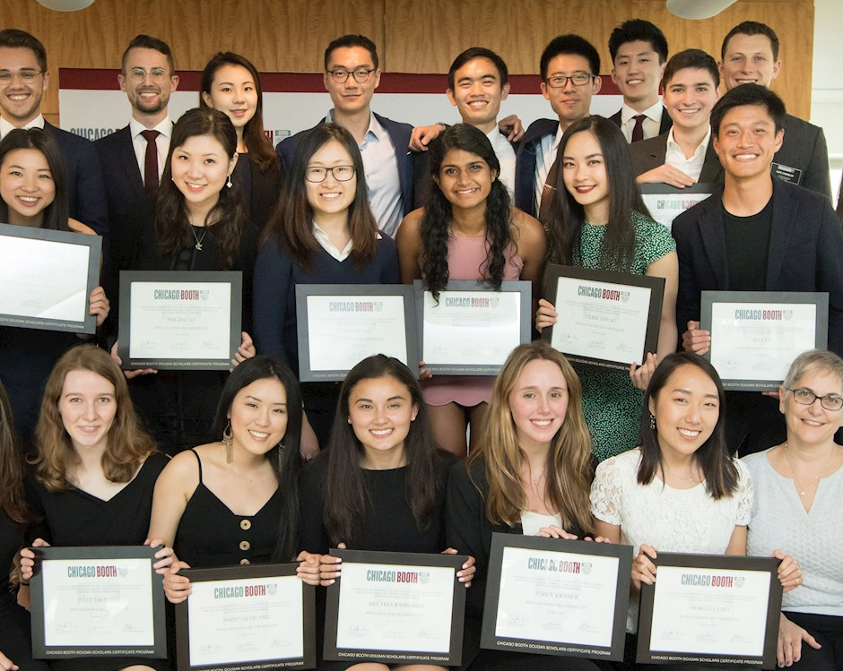 Group photo of the Dougan Scholars