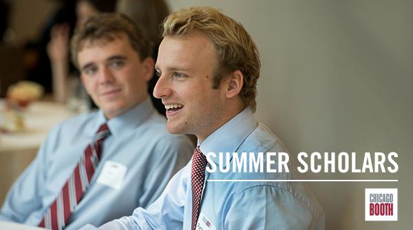 Summer Business Scholars Program   The University of Chicago