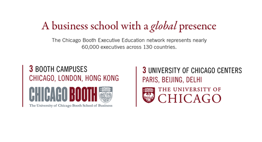Chicago Booth global logo