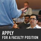 Apply for Faculty