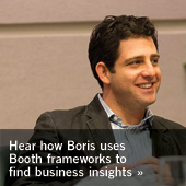 How Boris uses Booth frameworks to find business insights