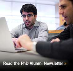 Read the Alumni PhD Newsletter