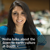Nisha talks about the down to earth culture at Booth