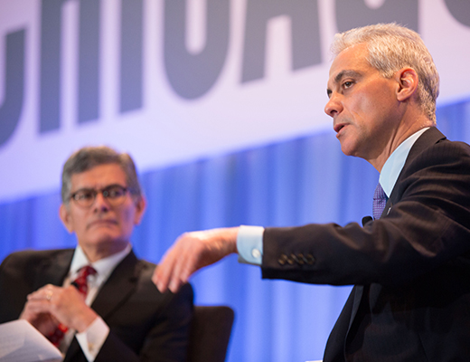 Rahm Emanuel at Management Conference