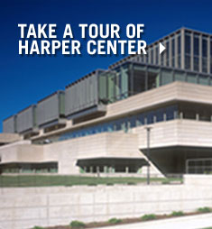 Take a tour of Harper Center
