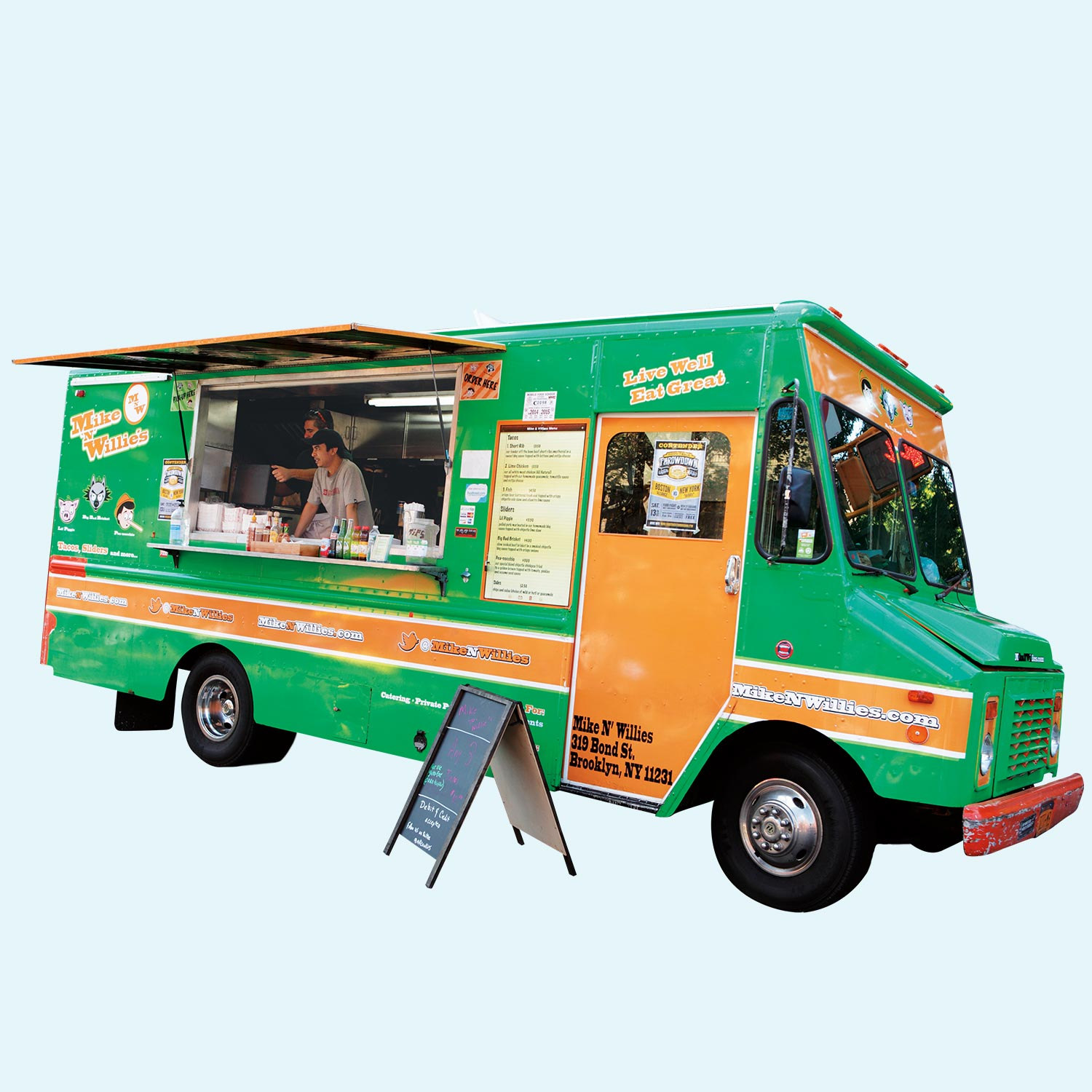 Where S The Optimal Place To Park A Food Truck