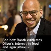 See how Booth cultivates Oliver's interest in food and agriculture