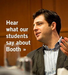 Hear what our students say about Booth