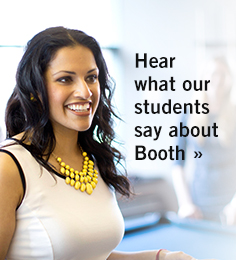 Hear what out students say about Booth