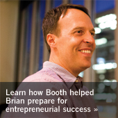 How Booth helped Brian prepare for entrepreneurial success